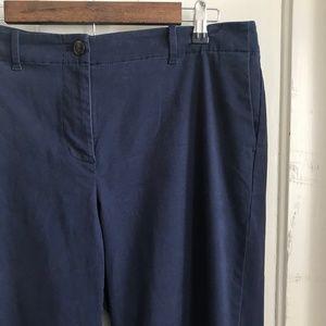 J. Jill Dress Pants, J. Jill Navy Blue Chino Pant